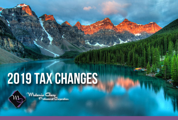 2019 tax changes for Canadians