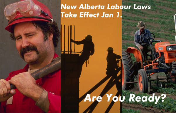 Alberta employers and workers face changes to their work regulations