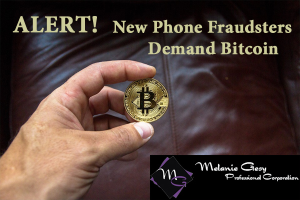 New Phone Fraudsters Demand Bitcoin