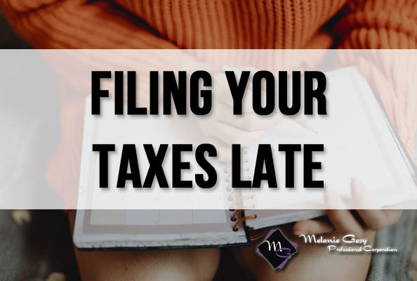 Melanie Gesy Professional Corp. in Leduc is here to help file your taxes late.
