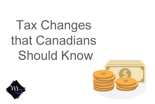 2018 Canadian tax changes
